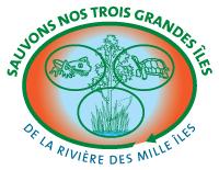 trois grandes îles de la rivière des Mille Îles Laval